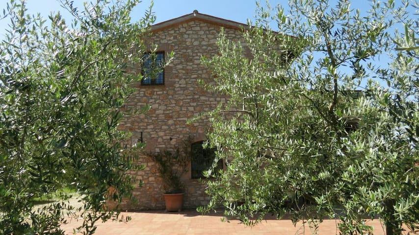 Villa Umbra con piscina e panorama