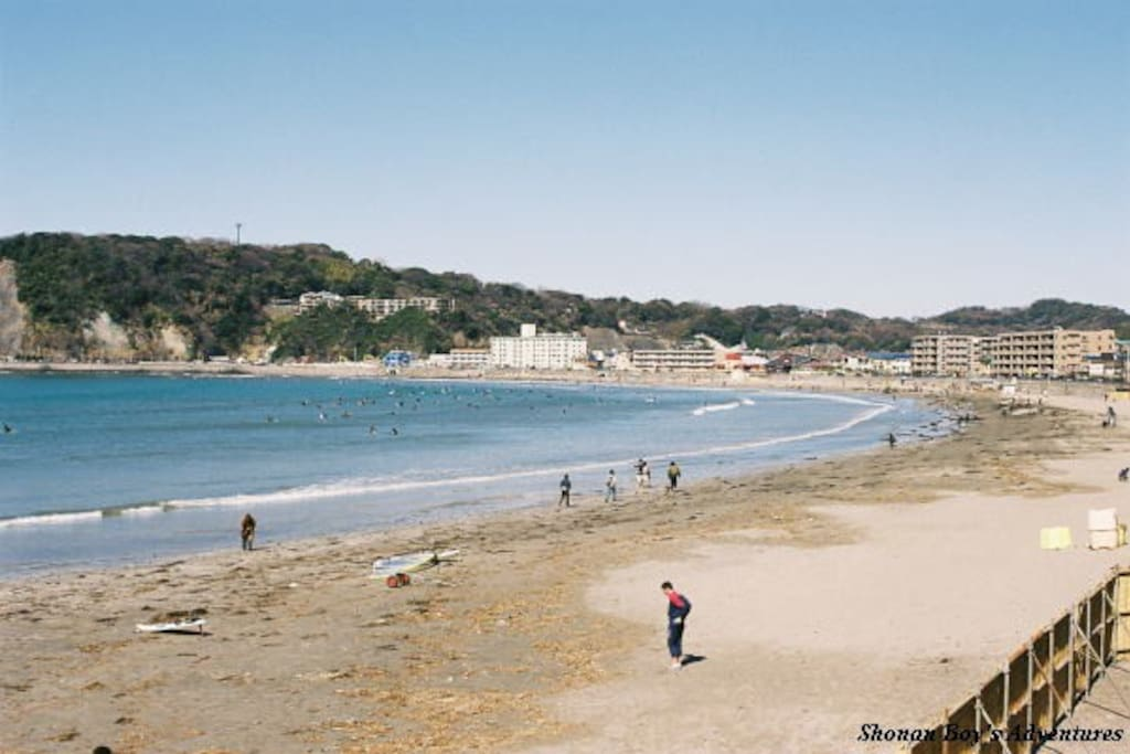 1 min walk to Zushi Beach