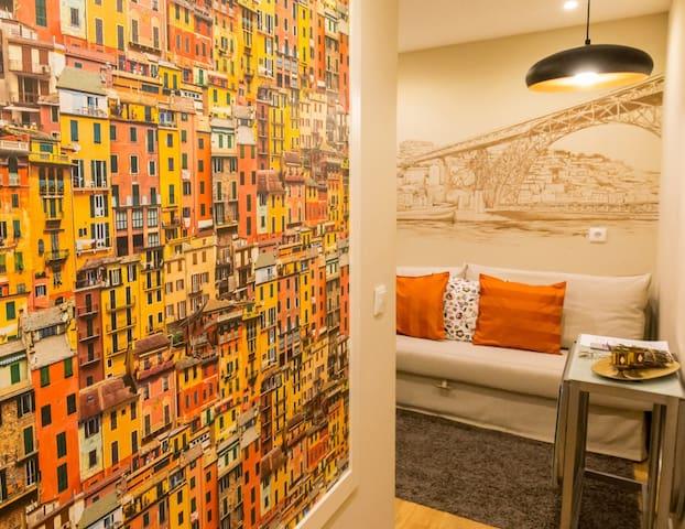 Downtown Cosy Apt I - City Center - Porto - Apartamento