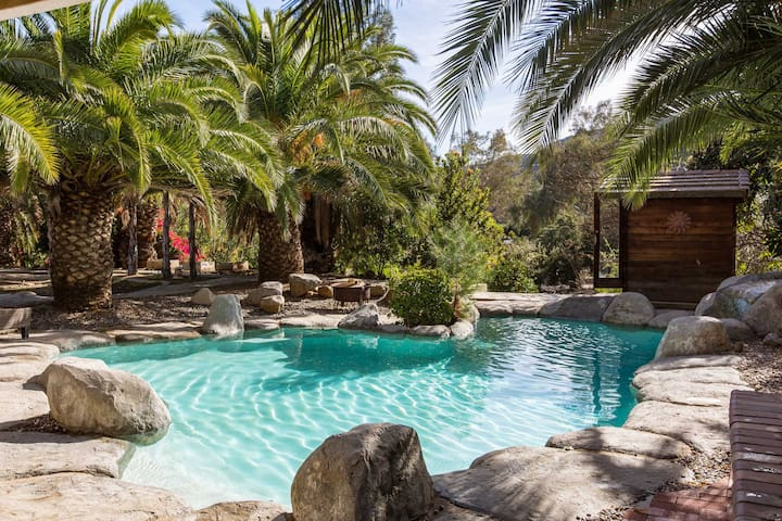 Secluded Large Country Ranch Estate