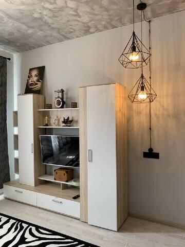 Уютная квартира с удачным месторасположением