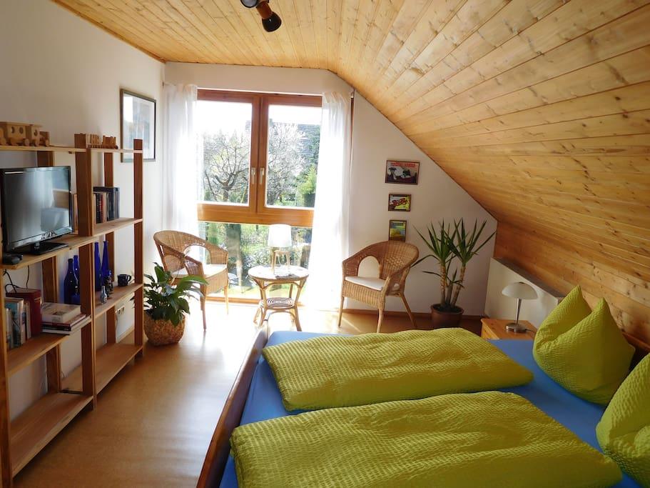 Zimmer 2 Doppelbett 2,00mx2,00m