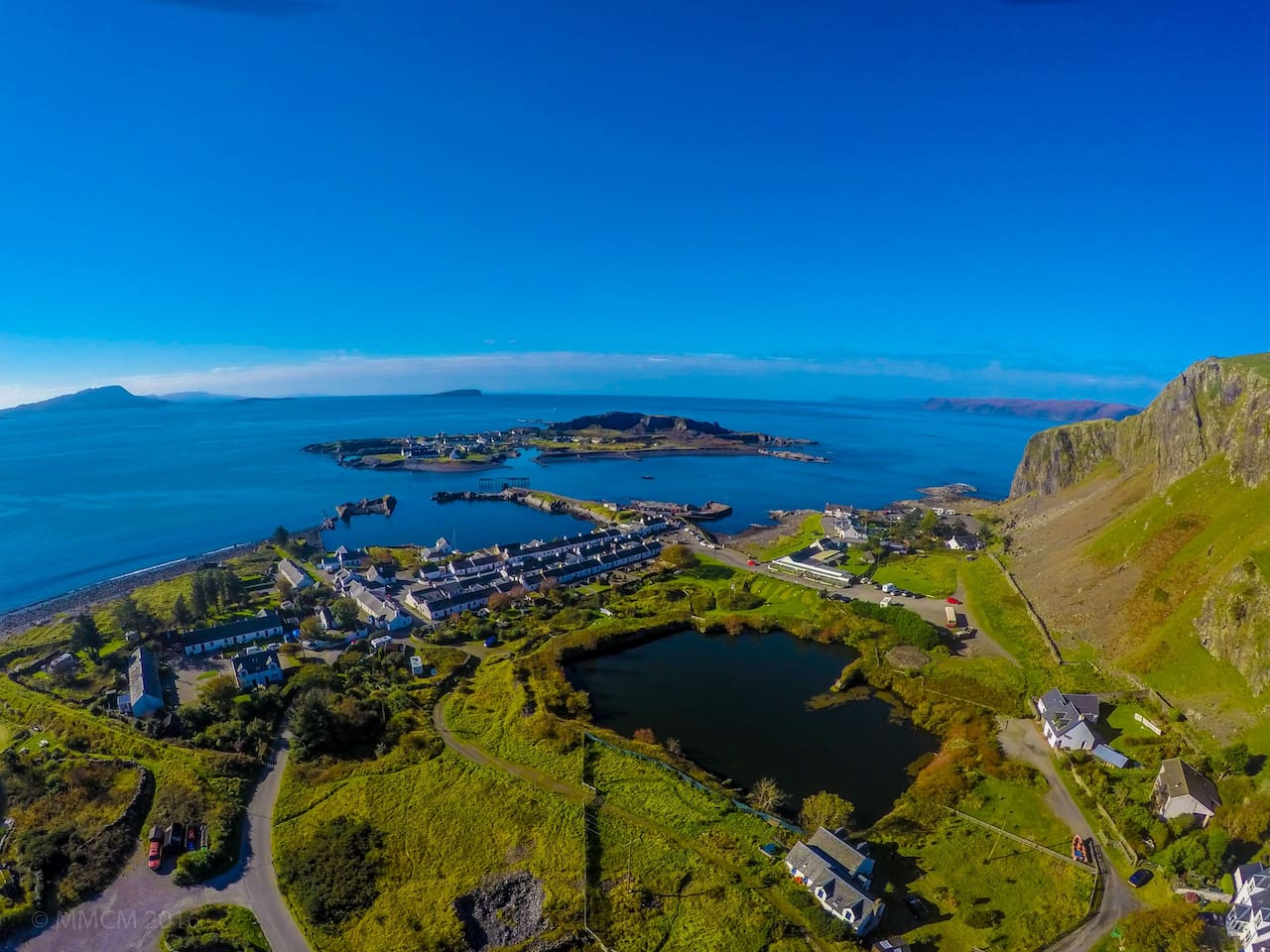 Ellenabeich and Easdale Island