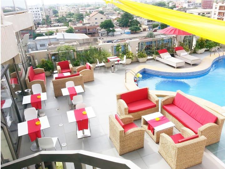 Deluxe Suite 2 - Bénin Royal Hôtel