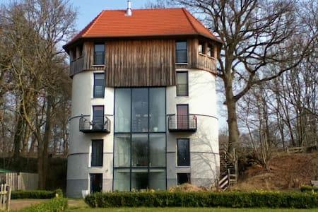 Historisches Futtermittlsilo - Poppendorf