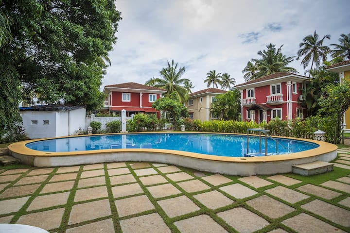 Luxury Orchard Villa~3Bhk~Pool~Calangute