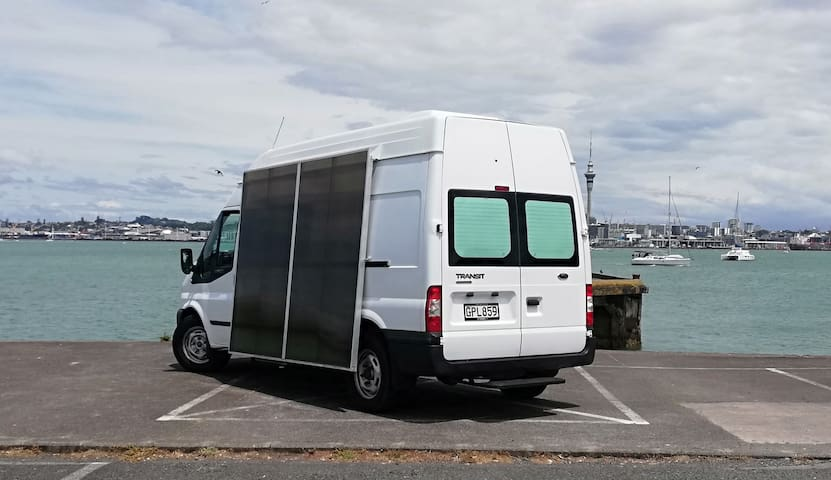 Stealth Camper for two, full head height. Manual .