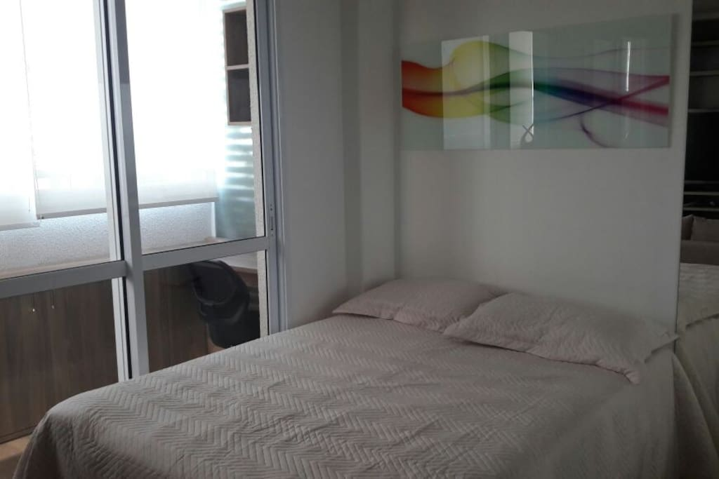 cama área do quarto