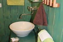 sdb avec douche italienne privative