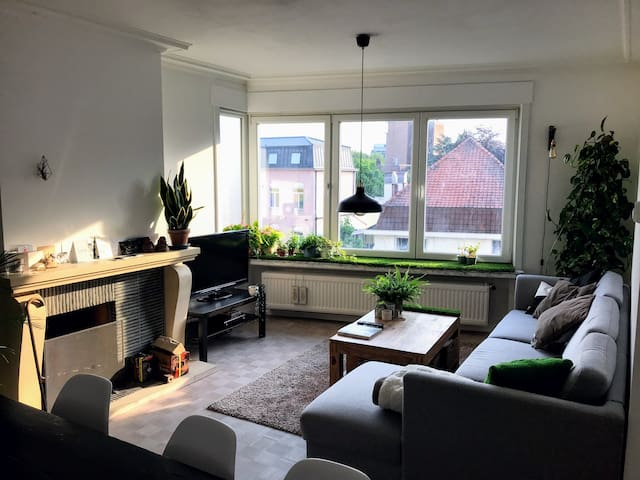 Spacious apartment in the city centre