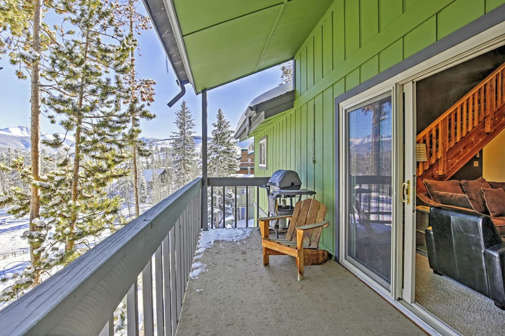 Have a great Rocky Mountain retreat at this Winter Park vacation rental condo!