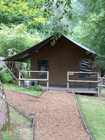 Safari Tent 'Birch' with great facilities
