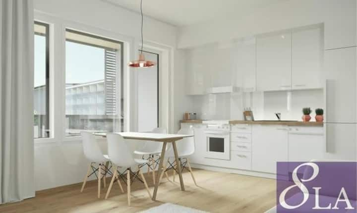 New home in hart of Turku- next to university