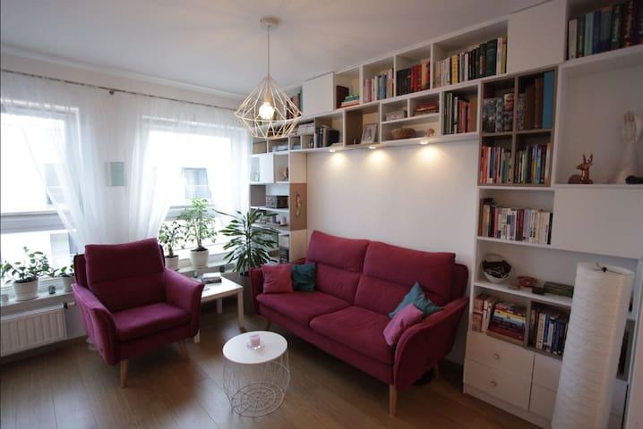 Harmony apartment in Zablocie, free parking