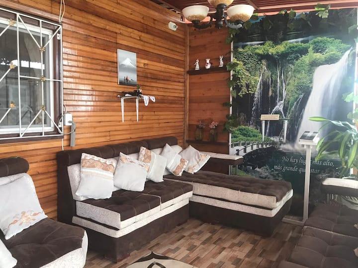 Villa Santa Ana, playa exclusiva a 50m