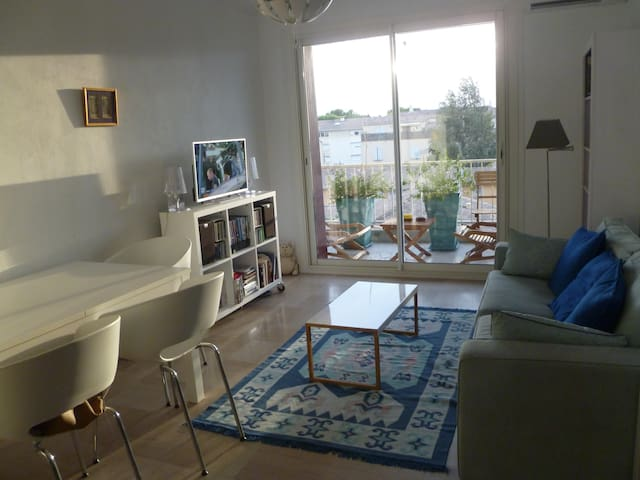 Bel appartement ensoleillé à 5 mn des remparts - Avignon - Condominium