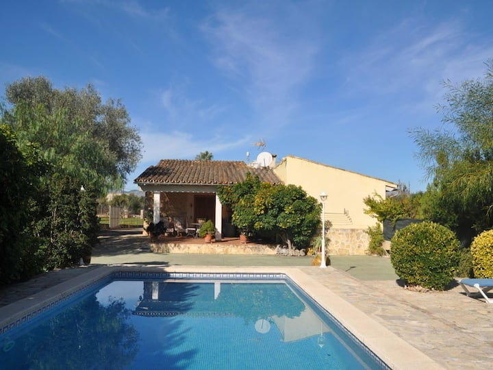 Sa Sini, holiday country house in Buger, Mallorca.