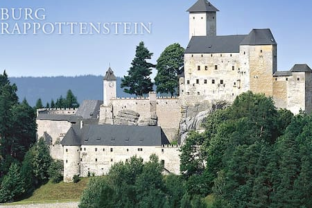Wohnen auf der Burg Rappottenstein - Rappottenstein