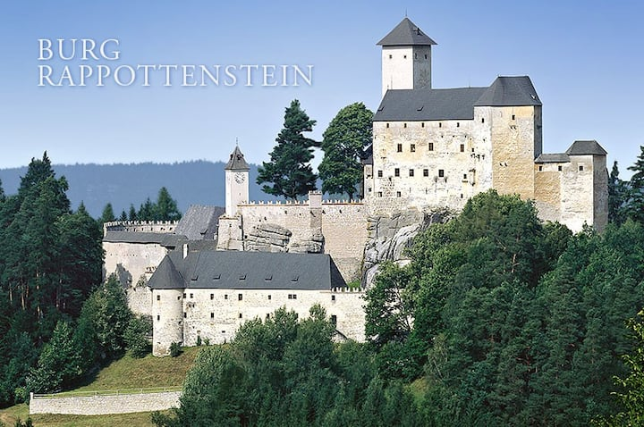 Wohnen auf der Burg Rappottenstein