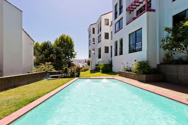 Hermoso departamento con vista al mar en Reñaca