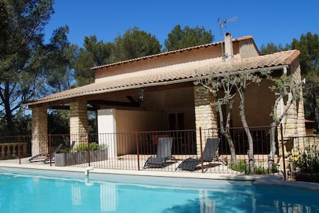 Maison Provence-5pers-piscine tennis pétanque - Grans - Casa de camp