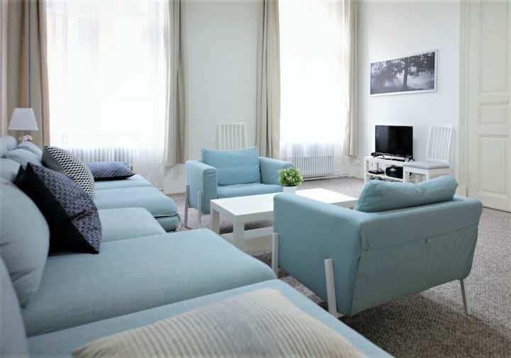 Spacious 2bedroom Apartment, Subway Mustek, Prg 1