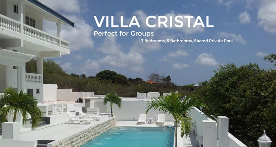 """FOR GROUPS: CHAMPARTMENTS SPACIOUS VILLA """"CRISTAL"""""""