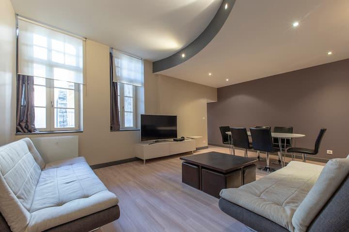 Appartement hyper centre ville historique 60 m2