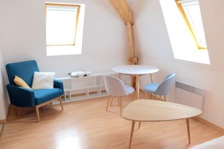 Studio design à Sarlat + Parking - Sarlat-la-Canéda - Flat