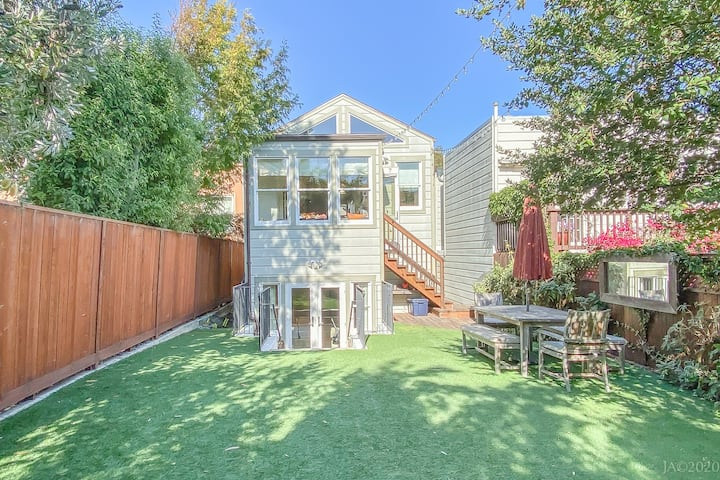 Spacious Noe Valley Family Home w Large Back Yard