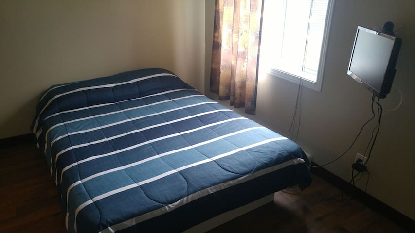 6.Belle chambre privée avec lit double