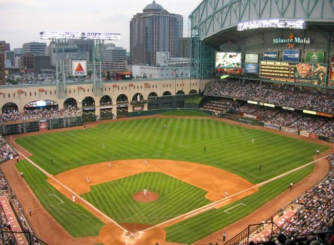 Astros-Minute Maid Stadium is 0.9 miles away