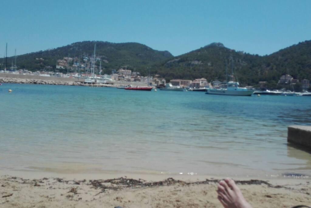 Puerto de Pollenso a 18 kilometros