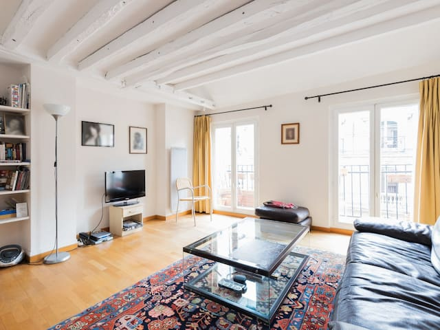 Charming 2br duplex apartment in the heart of Paris – W506