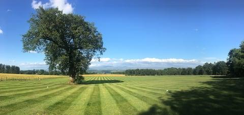 Lowther Cumbria : Der alte Cricket-Pavillon
