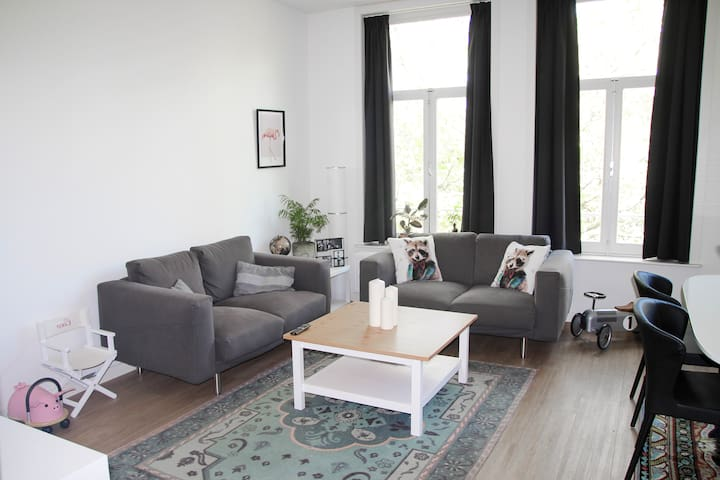 Bright rooftop apartment in het centre of The Pijp