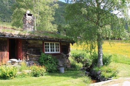 Eldhuset - hytte i Grungedal, nær Haukelifjell