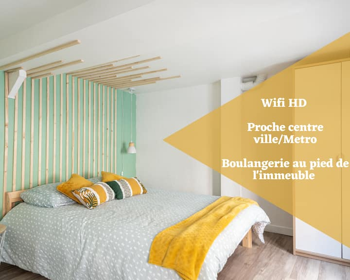 ❤️ Duplex Green Wood ❤️ proche centre Lille Wifi !