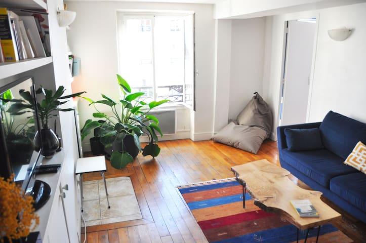 Appartement 2 pièces cosy et charmant