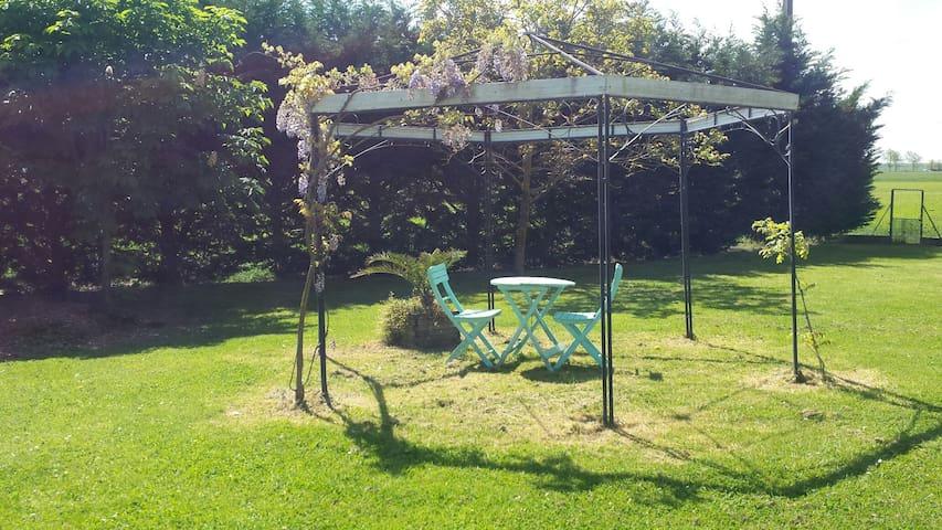 chambre privée dans villa procheTOULOUSE (15km) - Montaigut-sur-Save - Casa