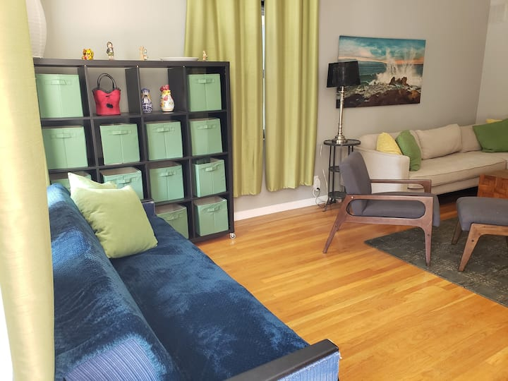 Mtn View Castro Street-2 bedroom~G00glers! Interns