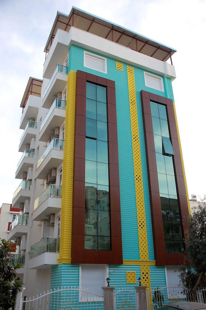 1+1 mobilyalı ev Muratpaşa Antalya