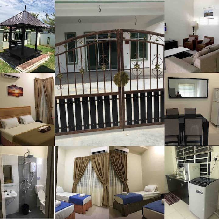Homestay DaFiRah in Muar -All rooms aircond / WIFI