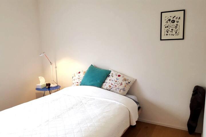 Chambre centrale dans bel appartement
