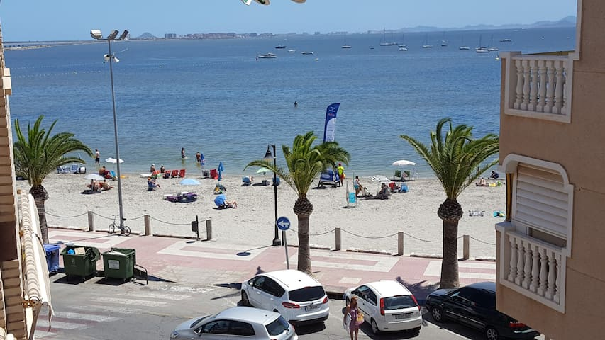 APARTMENT 1ST BEACH LINE MAR MENOR LO PAGAN - San Pedro del Pinatar - Appartement
