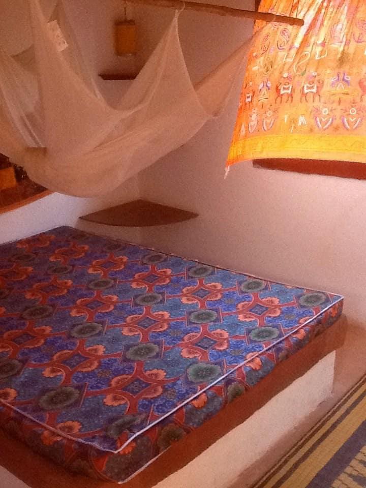 angolo di paradiso camera arancio