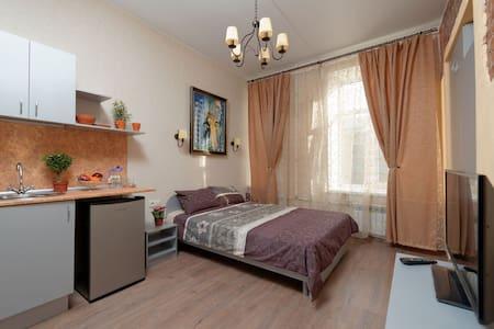#2  Уютная студия рядом с  Фонтанкой. - Sankt-Peterburg