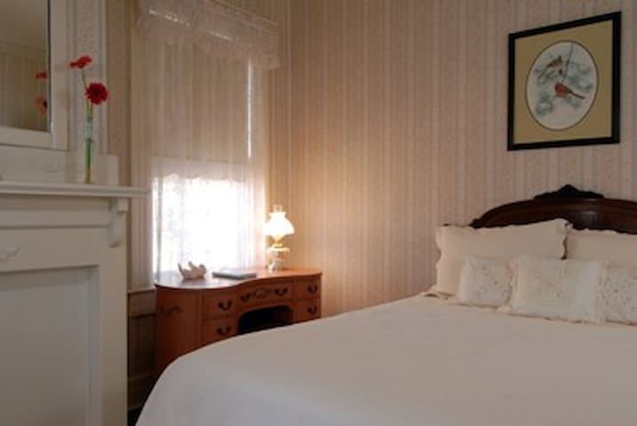 Grey Swan Blue Room w/Vintage decor, Bkfast inc - Blackstone - Bed & Breakfast