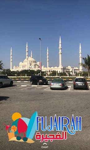 1 Double Room opposite Grand Sheikh Zayed Mosque