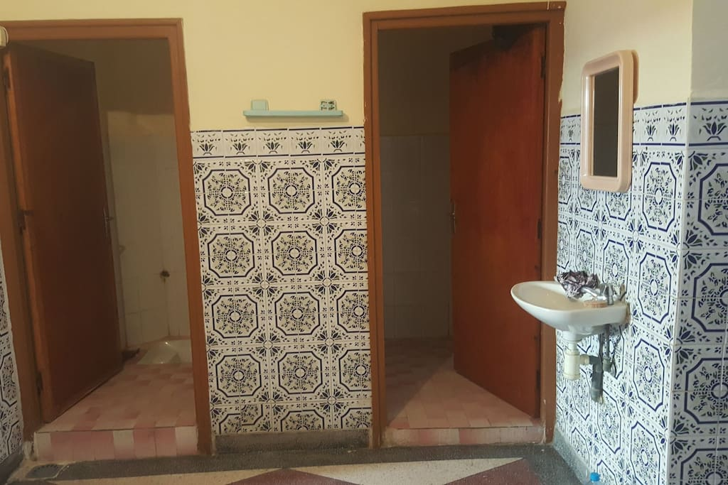 Both toilet and shower room.